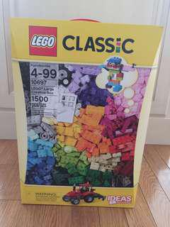 BRAND NEW Lego Classic 1500 Pieces (Set 10697)