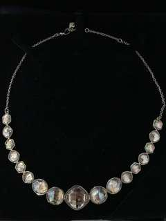 Authentic Swarovski necklace and earring set