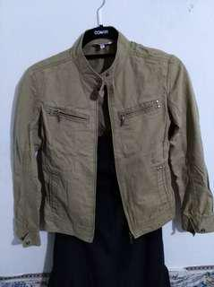 Brown Khaki Jacket