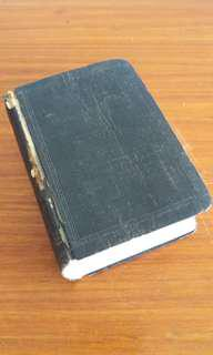 #blessing. Chinese bible. Small. 8cm by 12cm. exchange with a box of tissues will be nice (optional). Thanks.