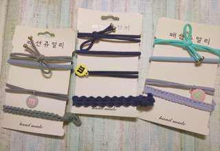 🚚 韓國 手鍊式髮飾 風格似roomee