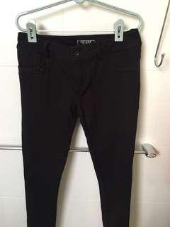 Guess black pants (size 27)