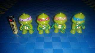 Ninja turtle 4 set