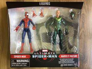 Marvel Legends spiderman vulture 2-pack