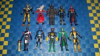 Kamen Rider set 10pcs