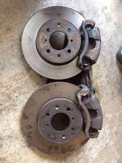 Front Disc brake b16A