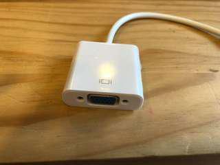 VGA adapter for Mac -not original-