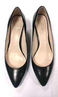 New Genuine Cole Haan Black Leather Pumps
