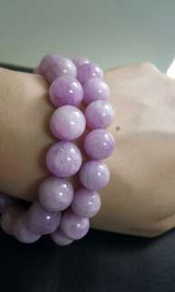 Kunzite Beads Bracelets