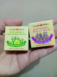 Human nature soothing balm new!