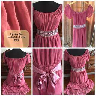 Slightly Used Embellished Dress