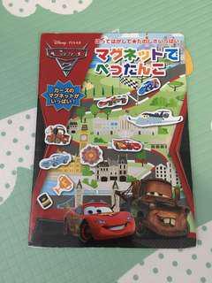🚚 Cars磁鐵書