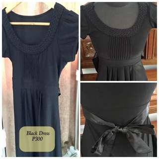 BLACK DRESS Used only Once in Excellent Condition