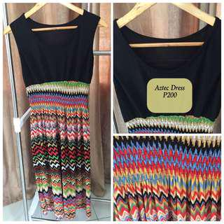 AZTEC Dress Used but in Good Condition