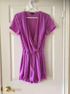 Women's UK2LA Romper in Beautiful Pink-Lavender Color Size Medium