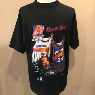 Vintage Phoenix Suns NBA 90s Black Tee