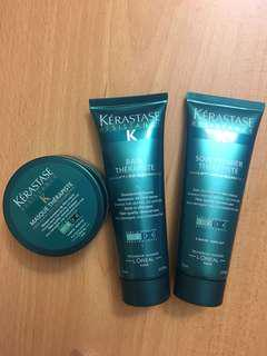 Kerastese Resistance Therapiste Set - Shampoo, Renewal Care, Hair Mask