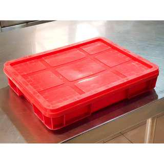 Industrial Plastic Crates - Durable Lightweight Stackable Containers