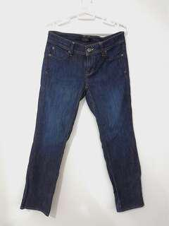 SALE Noir Denim Jeans Dark Blue
