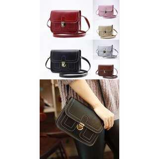 Leather Mini Shoulder Bag