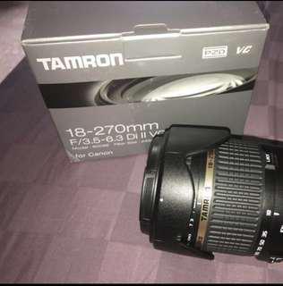 Tamron 18-270mm f3.5-6.3 Di II VC (canon mount)