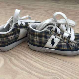 Ralph Lauren Baby Polo Shoes Size 11cm