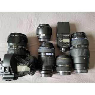 Olympus E5 相機鏡頭