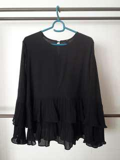 Pleated Layer Blouse