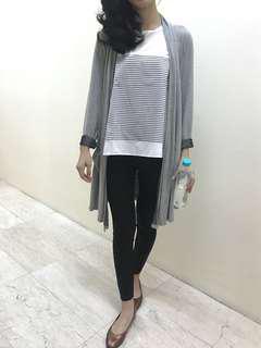 Grey outerwear