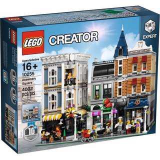 Lego 10255 靚盒 有啡盒