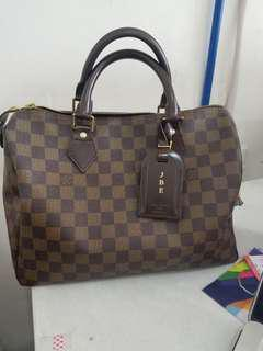 Authenthic Speedy 30 damier