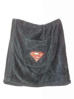 RARE Superman towel waist wrap around