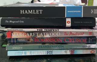 NTU Literature Books - Various Titles