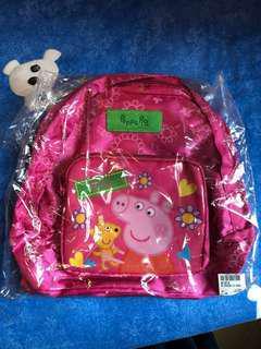 🈹️ Peppa pig 女童 全新 背包 背囊