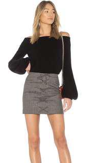Revolve NBD Jessa Skirt in Reid 8 kookai style