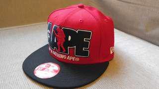 100%正版猿人 New era Aape ape bape Cap帽