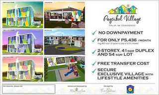 NO DOWNPAYMENT HOUSE AND LOT THRU PAG-IBIG/ Catmon, Sta. Maria, Bulacan