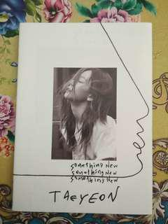 Taeyeon Something New Album