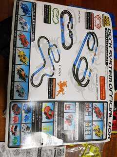Toy race car set
