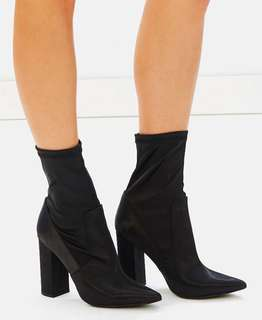 Brand new Sock ankle boots