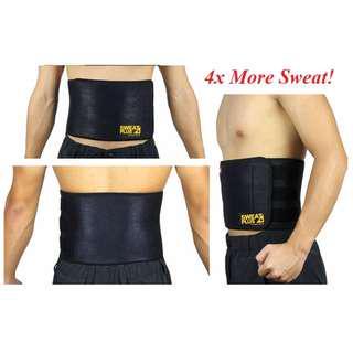 RESTOCK! Waist Trimming Belt From Sweat Plus+ Super Neo (Unisex)