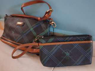 🚚 Santa Barbara sling handbag with matching pouch