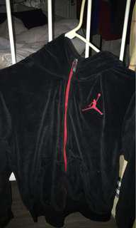 Black Jordan Zip Up