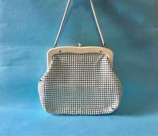 Vintage/Retro White Mesh Bag 復古 古董 手袋