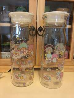 Sanrio twin stars 玻璃水瓶