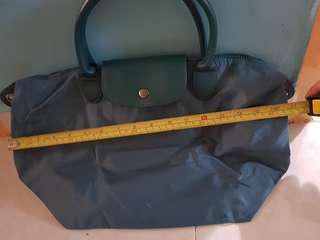 🚚 Foldable handbag olive green