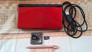 Nintendo DS Lite~ Red & Black Color. Includes R4 Card With 2GB ( 21 GAMES!!!) & USB Charging Cable For NDS Lite!!!. 100% WORKING CONSOLE!!!. 100% NO PROBLEM 👍!!!. 80% CONDITION OF CONSOLE!!!. ** PLEASE REPLY IN ENGLISH!!! 🤗 **