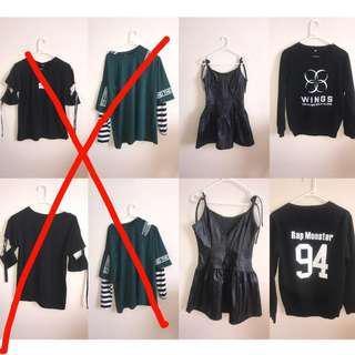 Harajuku style $10 clothing