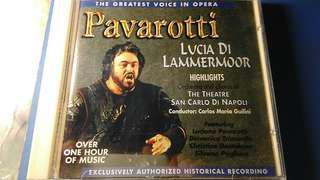 Pavarotti(巴代諾提),lvcia lammermoor,CD