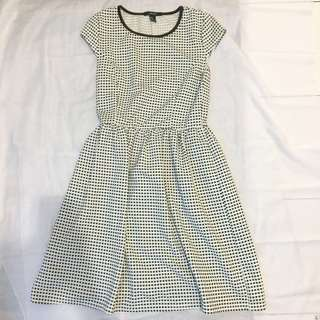 Forever 21 small checkered dress